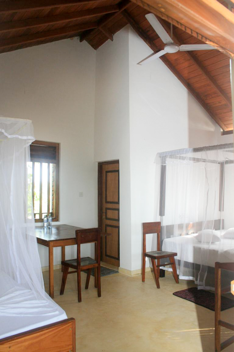 Large, light room