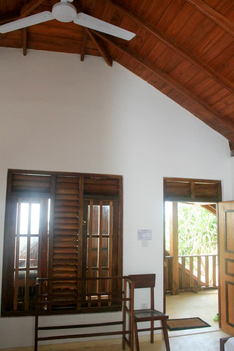 Entrance from the Veranda