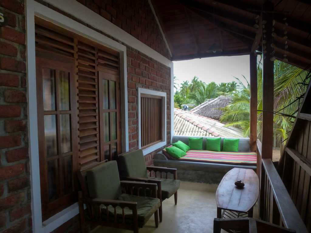 Upstairs veranda